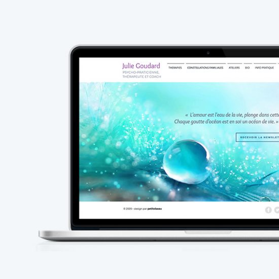 Site web Julie Goudard